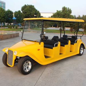 8 Seats Electric Passenger Sightseeing Classic Golf Car (DN-8D) pictures & photos
