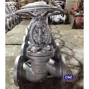 DIN Carbon Steel Globe Valve Pn16 Dn32 pictures & photos