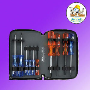 10PCS Precision and Normal Use Plastic Handle Screwdriver Set pictures & photos
