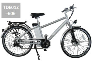 Alloy Double Wall Rim Electric Bikes with Brushless Motor pictures & photos