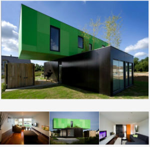 Flat Pack Container House/Folding Container Houses pictures & photos