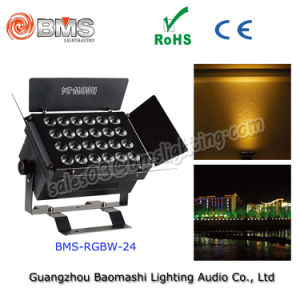 24*RGBW 12W 4in 1 LED High Brightness Spotlight