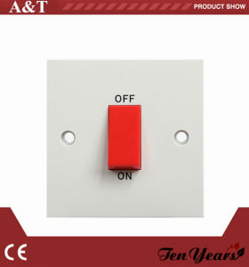 British CE Approved 45A 250 V D. P. Kitchen Switch