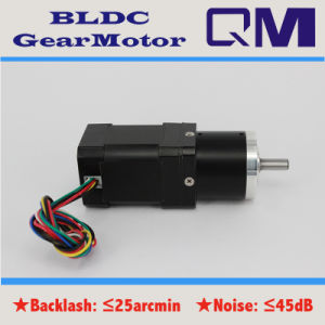 NEMA17 60W Brushless Motor BLDC with Gearbox Ratio 1: 50