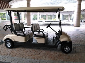 4 Seater Battery Operated Car for Golf Cart