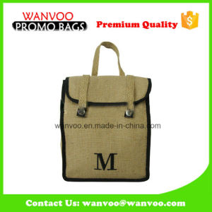 Children′s Jute Tote Backpack School Bag Wholesale pictures & photos
