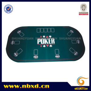 3 Folding Oval Poker Table Top for 9 Person (SY-T10) pictures & photos
