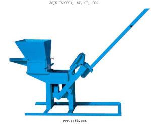 Manual Clay Brick Making Machine (QTJ2-40) pictures & photos