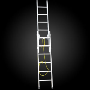2 Section Extension Agility Folding Aluminium Step Ladder pictures & photos