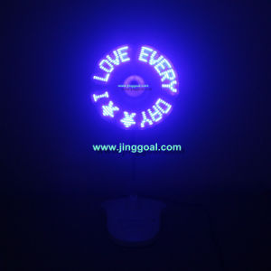 Flashing Message LED Fan pictures & photos
