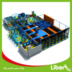 Safety Huge Indoor Trampolines Park with Foam Pit pictures & photos