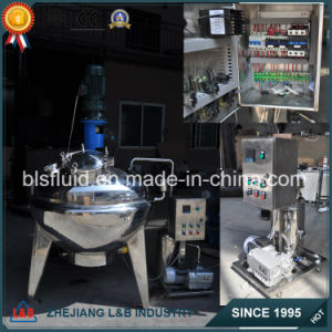 Fantastic Three-Layer Pressure Vertical Blending Tank for Detergent Soap Making pictures & photos