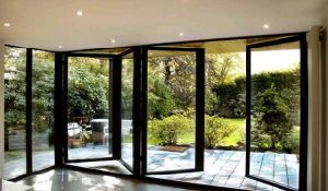 Double Glazing Folding Door for Interior or Exterior (CL-D2020) pictures & photos