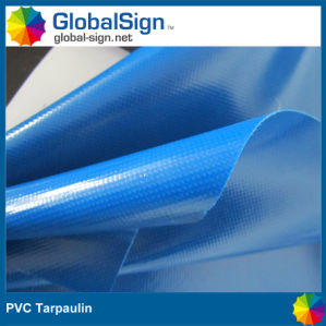 PVC Coated Polyester Fabric / Tarpaulin pictures & photos