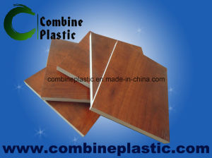 PVC Laminated Foam Board Building Materials Instead UV Coated Plywood pictures & photos