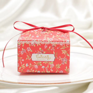 Wedding Candy Paper Gift Box / White Cardboard Paper Boxes