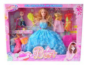 11 Inch Plastic Lovely Girls Baby Doll Toy pictures & photos