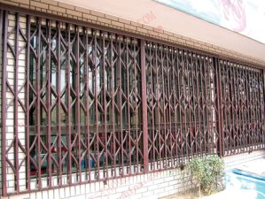 Burgular-Proof Aluminium Collapsible Door (BHS-DA06) pictures & photos