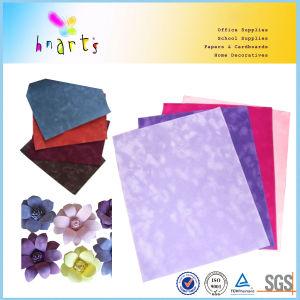 Velvet Paper Flocked Paper pictures & photos