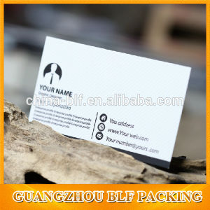 9X5.4cm Paper Business Card (BLF-F111) pictures & photos