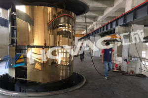Mirror Finishing Stainless Steel Sheet PVD Titanium Coating Machine/PVD Coating Equipment pictures & photos