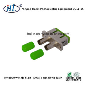 Optic Communications Sc-St APC Duplex Fiber Optic Adapter pictures & photos