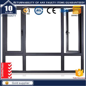 2017 Double Glazing Aluminium /Aluminum Tilt and Turn Sliding Windows pictures & photos