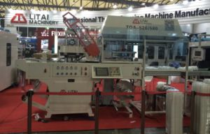 Industrial Plastic Lunch Box Tray Forming Machine with Stacker pictures & photos