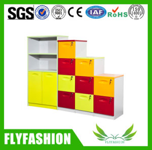 Colorful Kids Furniture Children Cabinet with Plastic Tray (SF-124C) pictures & photos