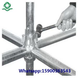 Hot DIP Galvanized Cuplock Scaffolding for Construction pictures & photos