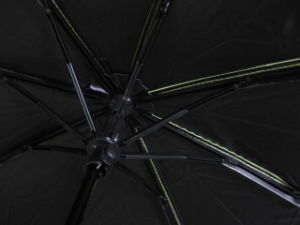 UV-Anti Good Quality 3 Fold Umbrella with Black Coating (3FU009) pictures & photos