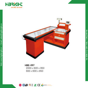 3m Long Cashier Counter Table with Belt for Chain Store pictures & photos