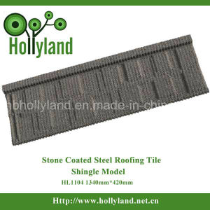 Stone Coated Steel Roofing Tile Africa, Southeast Asia (Shingle Type) pictures & photos