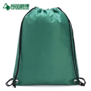 Promotion Polyester Duffel Bag Drawstring Backpack Draw String Pack pictures & photos