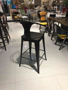 Metal Bar Chairs High Back Chair Set Modern Furniture Chair Factory Price pictures & photos