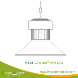 Hb25 30W 50W 70W 80W Factory Warehouse LED High Bay Light pictures & photos