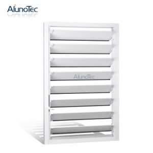 Durable Aluminium Louvres Window for Bathroom pictures & photos
