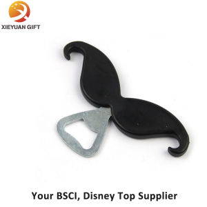 Eco-Friendly Mustache Printing Logo Bottle and Wine Opener pictures & photos