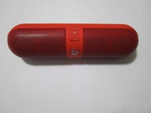 Wireless Pill Bluetooth Speaker 3.5mm Audio Handsfree Portable Speaker (OM-S33) pictures & photos