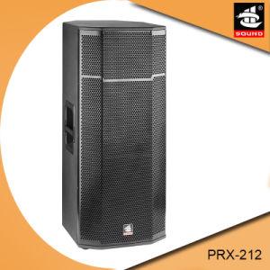Dual 12 Inch PRO Full Range System Wooden DJ Passive Speaker pictures & photos