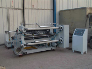 Good Quality Horizontal Plastic/Paper Slitter Machine Manufacturer (QFJ-A/1300) pictures & photos