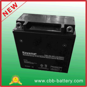 12V9ah Maintenance Free AGM Motorcycle Gel Battery Yb9-BS-Mf pictures & photos