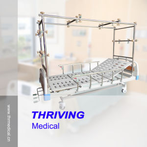 3-Crank Manual Orthopaedics Traction Bed (THR-TB321) pictures & photos