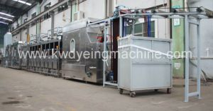 Luggage Webbing Continuous Dyeing Machines 400mm pictures & photos