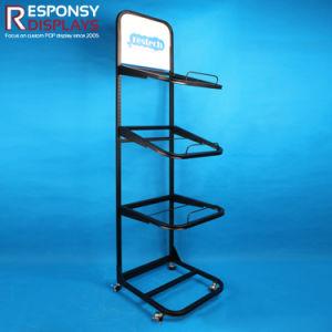 POS Mattress Metal Floor Display Stand pictures & photos