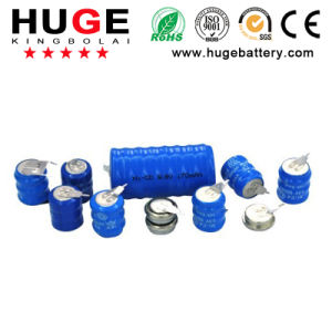 3.6V Rechargeable Ni-CD button Cell battery pictures & photos