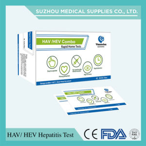 Infectious Disease Test Kits Cassette for HAV/HBV/HCV/Hev Hepatitis, Test Strip, Test Card pictures & photos