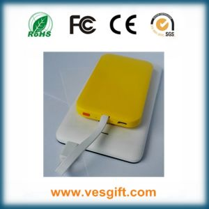 New Products 2016 Ultra Slim Sucker Power Bank Li-Polymer Battery pictures & photos