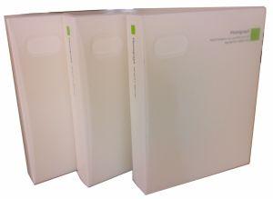 Half Transparent Plastic Cleanly White Fashion Collection Home Photo Album pictures & photos
