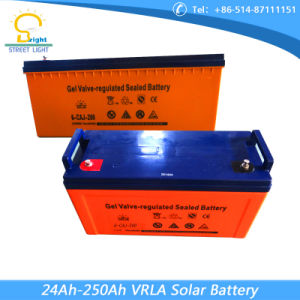Hot Sell 200ah Rechargeable Battery for Solar Light pictures & photos